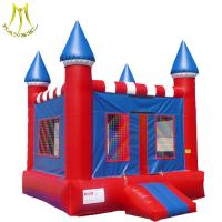 Quality Hansel    Best design PVC material inflatable castle type inflatable jumper for kids for sale