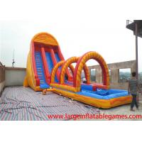 Quality EN14960 colorful gaint Commercial inflatable slide for kids / water slide bouncer inflatable for rental for sale