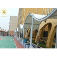 Buy cheap Outdoor PVDF Fabric Shade Canopy For School Walkway Structures from wholesalers