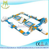 Wholesale Hansel fantastic inflatable water combo trampoline for adult from china suppliers