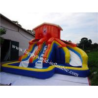 Wholesale inflatable water slide parts , child pool with water slide , pool water slide home from china suppliers