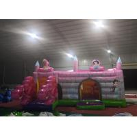 Wholesale Pink Dragon Kids Inflatable Bounce House / Backyard Jump Houses For  Children from china suppliers