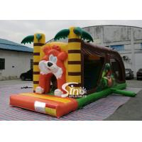 Wholesale Cartoon kids Bouncy Castle Inflatable jump house with slide For kids Inflatable Game from china suppliers