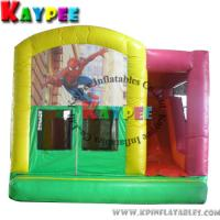 Wholesale Spiderman combo ,inflatable combo game,spiderman bouncer with slide obstacle KCB039 from china suppliers