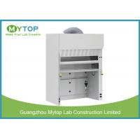 China Floor Mounted Laboratory Walk In Fume Hood , Laboratory Ventilation Hoods 5 Feet on sale