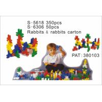 Wholesale Educatinal Toy, Rabbit Building Blocks, Rabbits&Rabbits Carton (S-5618) from china suppliers
