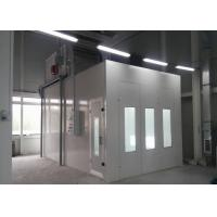 Wholesale Full Grilles Garage Automotive Paint Booth System Manual Damper Controlled from china suppliers