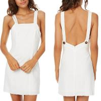 Wholesale Summer elegant women casual white dress from china suppliers