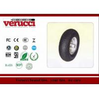 Wholesale 4.50 - 8 Steel 16 Inch Rubber Caster Wheels / Green Pneumatic Tire Casters from china suppliers