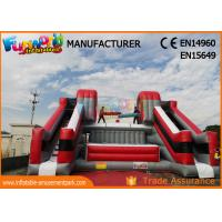 China Customize Color Inflatable Interactive Games Jousting Arena Inflatable Battle Zone on sale