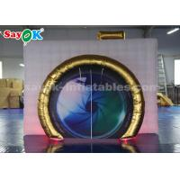 Wholesale Portable Inflatable Photo Booth 210D Oxford Cloth Material Waterproof from china suppliers