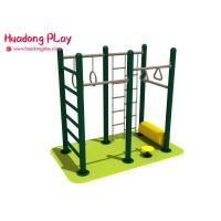 Wholesale Multifunctional Outdoor Weight Training Equipment  , Public Fitness Equipment  Complex Exercise from china suppliers