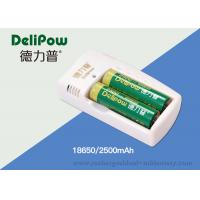 Wholesale 110*65*20mm 2500mAh 18650 Lithium Battery , Rechargeable 18650 Battery from china suppliers