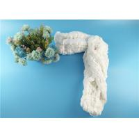 Wholesale AA Grade Polyester Spun Hank Yarn Vrigin Even 42 s / 2 Raw White Bright from china suppliers