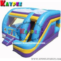 Wholesale Inflatable colourful fun combo,inflatable bouncer with slide and obstacle KCB046 from china suppliers