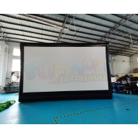 Wholesale Advertising Projection Show Air Inflatable Movie Screen from china suppliers