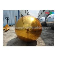 Wholesale 1m PVC Gold Inflatable Mirror Ball For Indoor Decoration Wedding Party from china suppliers