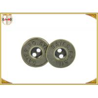 Buy cheap Brass Plating Magnetic Button Clasp Hidden Magnetic Purse Closures With Engraved from wholesalers