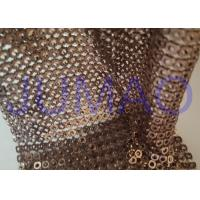 Wholesale Brown Hollow 4 Mm Metal Sequin Fabric Cloth For Interior Or Exterior Drape from china suppliers