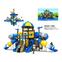 Wholesale Amusement Large Garden Slide Space Slide Playground For 3 - 12 Years Old from china suppliers