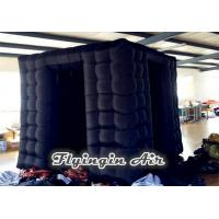 Wholesale Black Inflatable Octagonal Photo Booth without Photo Kiosk for Sale from china suppliers
