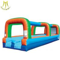 Wholesale Hansel  obstacle sports game inflatable bouncy castle  inflatable slide 2018 from china suppliers