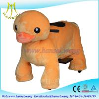 Wholesale Hansel best selling coin operated plush walking animal toys for kids from china suppliers