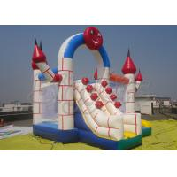 Wholesale PVC Outdoor Commercial Inflatable Bouncer With Slide , Combo Jumping Castle from china suppliers