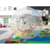 Wholesale 1.0mm PVC Transparent Brilliant inflatable ramps zorb balls For Outdoor water Fun from china suppliers