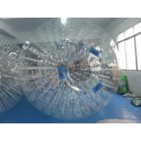 Wholesale Transparent 0.7mm TPU Inflatable Body Zorb Ball For Blow Up Water Park from china suppliers
