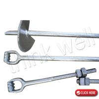 Forged Steel Galvanized Guy Wire Anchor
