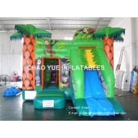 Indoor / Outdoor Bouncy Castle Inflatable Bounce House Rentals Available Logo Printings