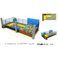 Wholesale 73M2 Small Size Indoor Trampoline Park with Basketball Game/ Chinese Trampoline with Foam Pit from china suppliers