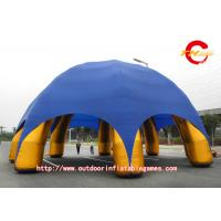Wholesale Large Blue Inflatable dome Tent 15m Golden Eight Foot Arch Outdoor from china suppliers