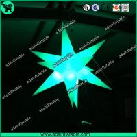 Buy cheap 1.5m Beautiful Lighting Inflatable Star,Event Inflatable Star from wholesalers