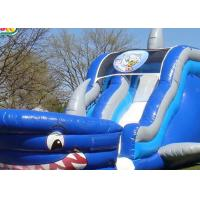 Wholesale 0.55mm PVC Giant Inflatable Slide For Water Games / Blow Up Water Slide For Toddlers from china suppliers
