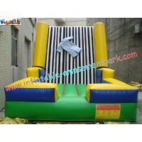 Wholesale Velcro Walls,Sticky Games For Childrens Inflatable Sports Games 4L x 3.5W x 2.5H Meter from china suppliers