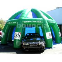Wholesale Green Color PVC Tarpaulin Air Sealed Tent For Car Parking from china suppliers