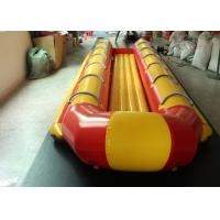 Wholesale Aqua Surfing Inflatable Banana Boat Ship 12 People Flying Fish Towable from china suppliers