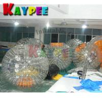 Buy cheap Transparent zorb ball roller ball grass ball water game Aqua fun park water zone from wholesalers