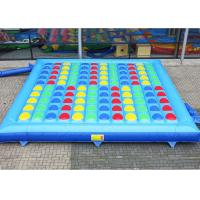 Wholesale Fasionable Inflatable Twister Games Amusement Park With 0.55mm Pvc Tarpaulin from china suppliers