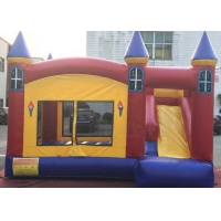 Kids PVC Tarpaulin Inflatable Jumping Castle With Slide