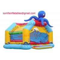 Wholesale inflatable 0.55mm pvc tarpaulin jumping castle BO017 from china suppliers