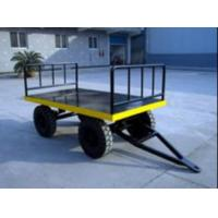 Wholesale Strong Electric Platform Truck 3 Ton Loading Capacity 10# channel steel Material from china suppliers