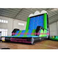 Attractive Waterproof Inflatable Climbing Wall Game Excellent Durability
