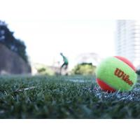 Wholesale Indoor / Outdoor Artificial Grass Tennis Court , Evergreen Fake Grass Lawn Easy Installation from china suppliers