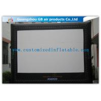 Wholesale 6 X 5m Inflatable Cinema Screen Projection Screen Rentals For Film Show from china suppliers
