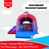 Wholesale sale cheap bouncy castle/customized spider-man jumping castles/indoor mini bouncy castle from china suppliers
