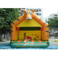 Buy cheap Lovely Blow Up Kids Inflatable Tiger Jumping Castles for kids Inflatable Bouncy from wholesalers