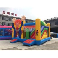 Quality Large Industrial Small Toddler Or Kids Clown Bounce House On Clearance for sale